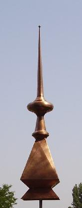 sharp finial